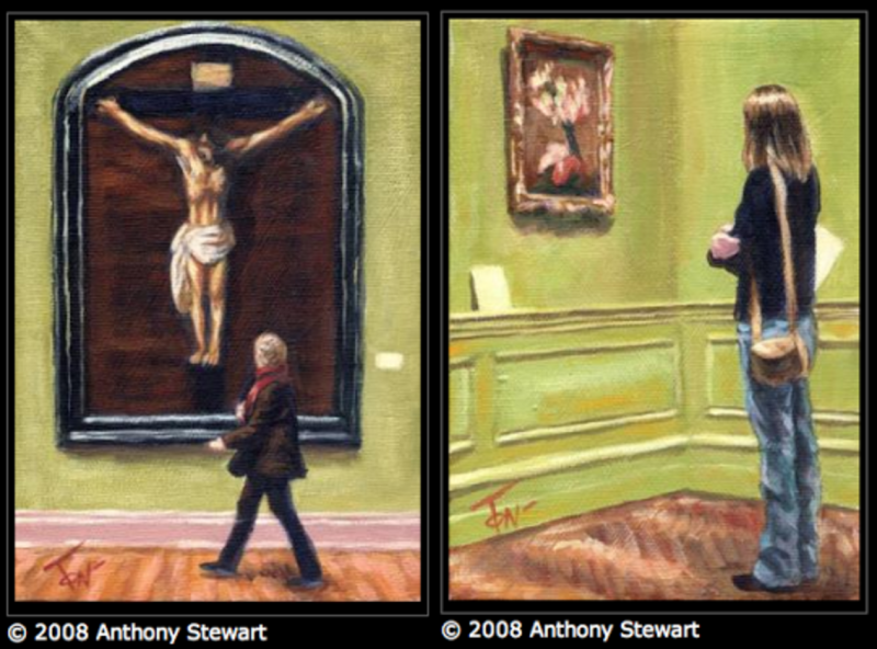Anthony Stewart paintings