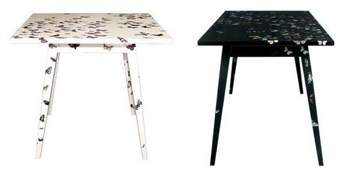 fornasetti butterfly tables