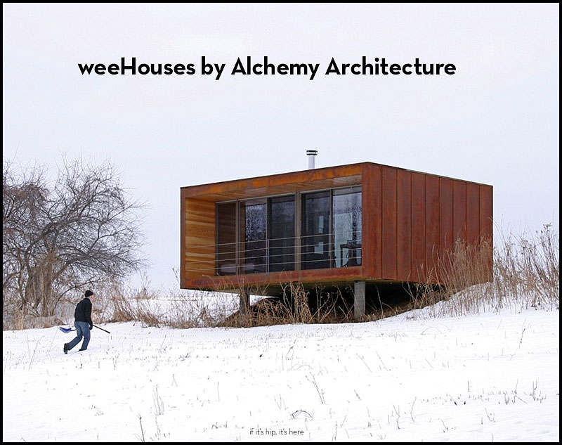 weehouses by alchemy architecture