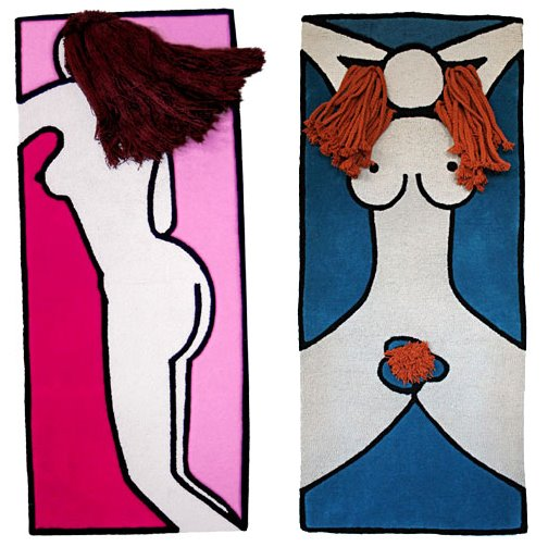 Read more about the article Funky Find Of The Week: Boym's Sex Rugs; Aphrodite & Diana