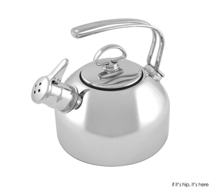 Chantal classic stainless steel whistling kettle