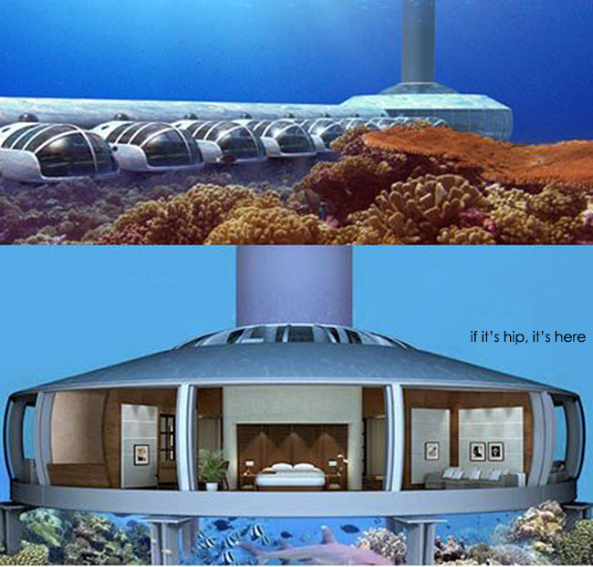 Underwater Dwellings H2ome And The Poseidon Resort If