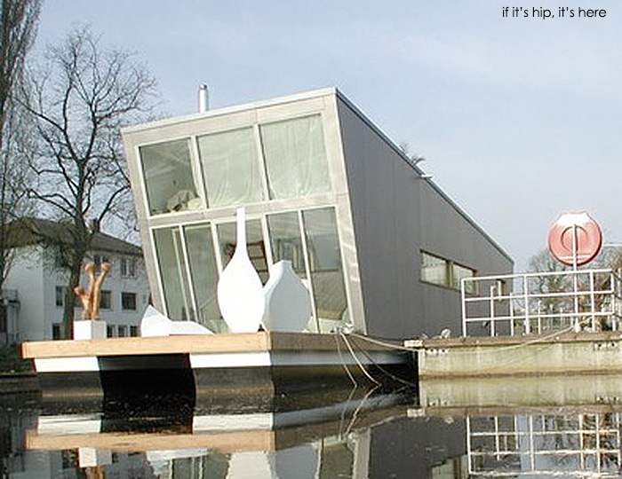 The Silver Fish Floating Home