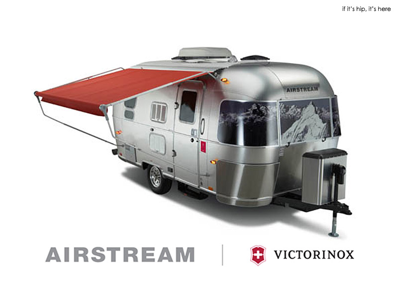 the victorinox 125th anniversary special edition airstream trailer if it 39 s hip it 39 s here. Black Bedroom Furniture Sets. Home Design Ideas