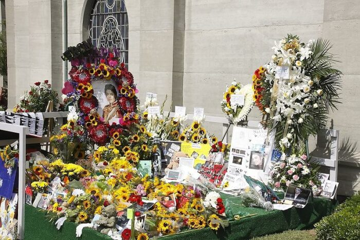 Michael Jackson Memorial at Forest Lawn Cemetery, Los Angeles, CA