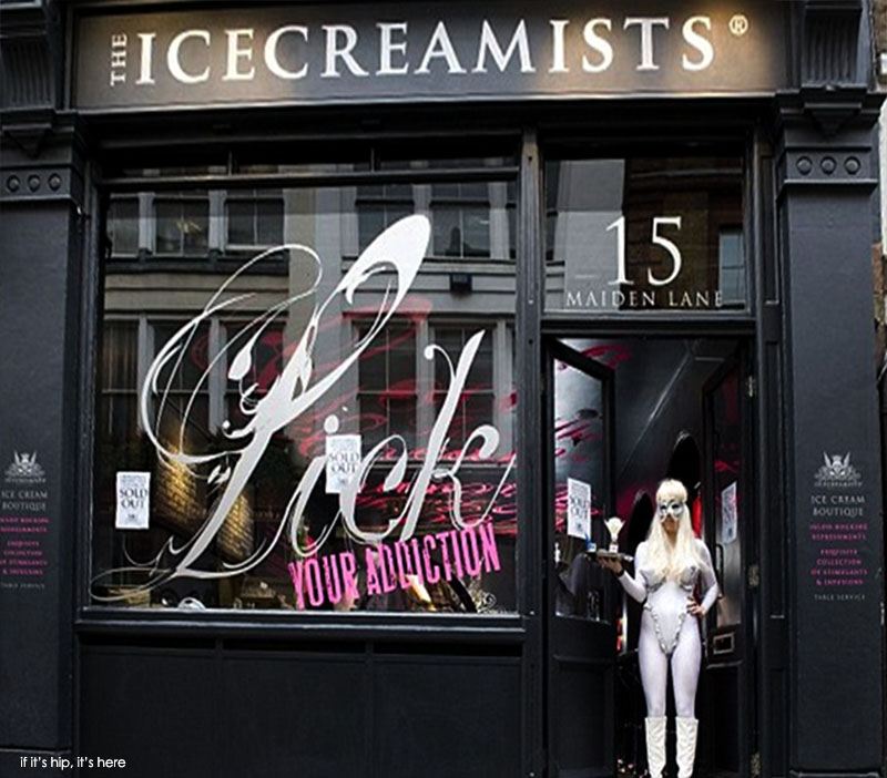 icecreamists store front