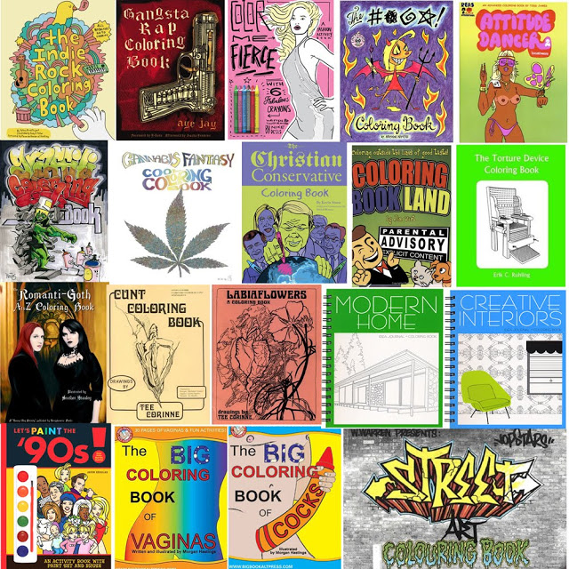 the top 30 coolest coloring books for grown ups if its hip its here - Cannabis Coloring Book