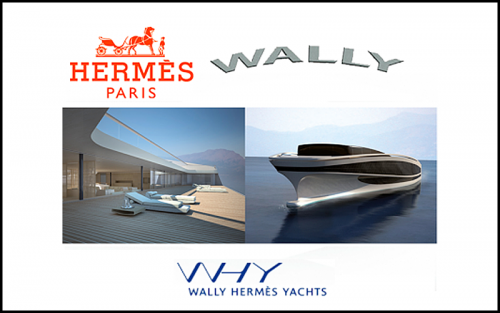 Read more about the article Hermès Collaborates With Wally: A Bugatti, A Helicopter, Now A Superyacht.