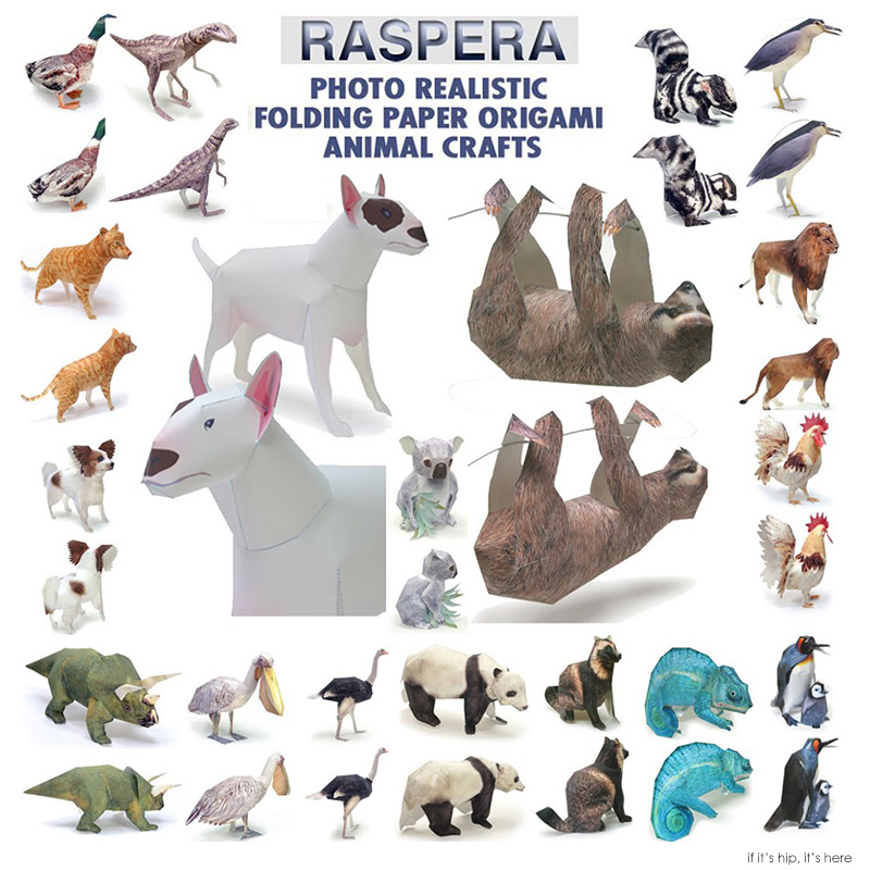 100 Paper Animals To Fold