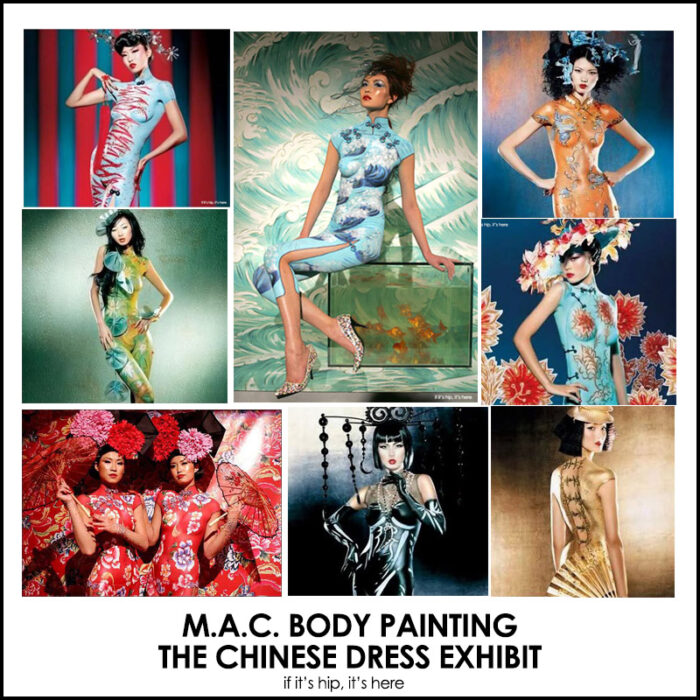 The M.A.C. Chinese Dress Body Painting