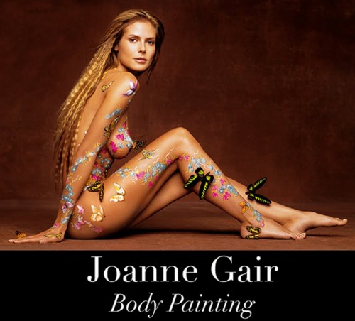 Read more about the article The Super Sexy Body Painting of Joanne Gair