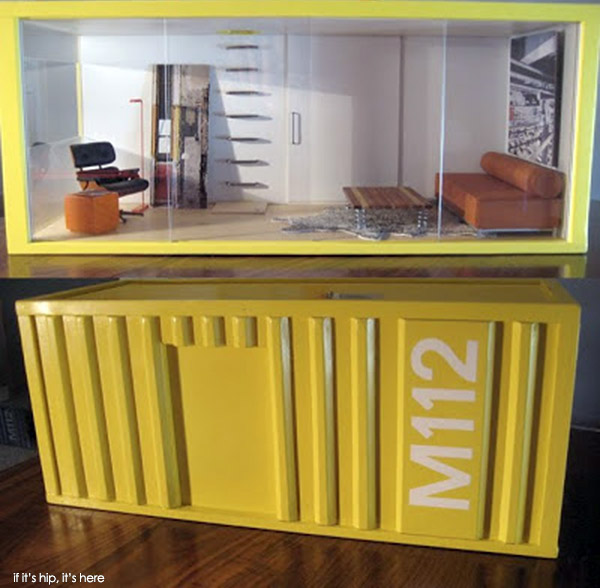 Dollhouse Miniatures In Las Vegas: M112 PODS & Mini Modern Furnishings By Paris Renfroe
