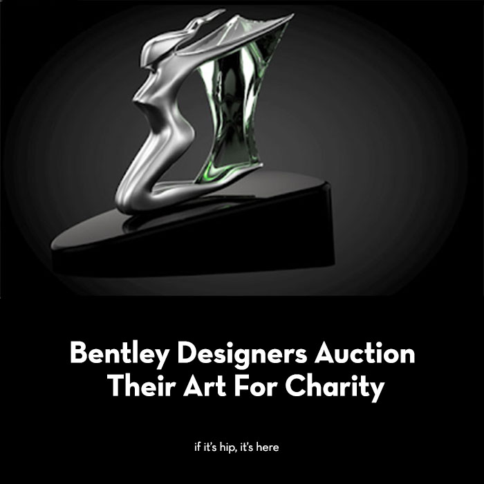 Bentley Designers Auction Their Art For Charity