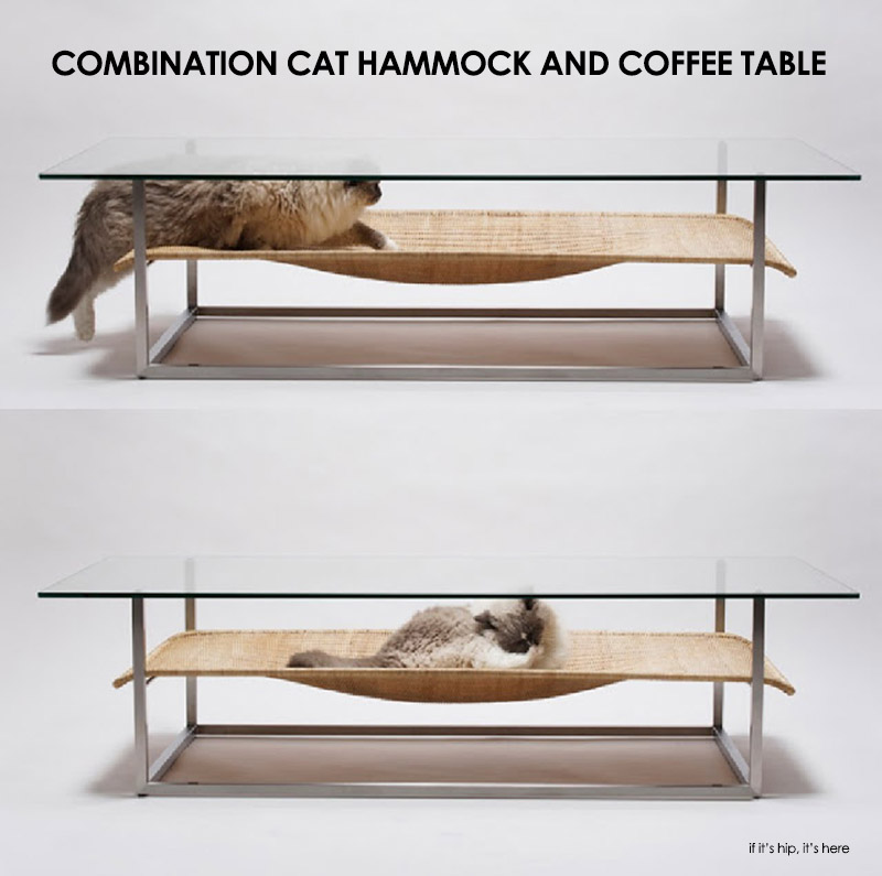 Cat Hammock Combo Coffee Table By Case Real If It 39 S Hip