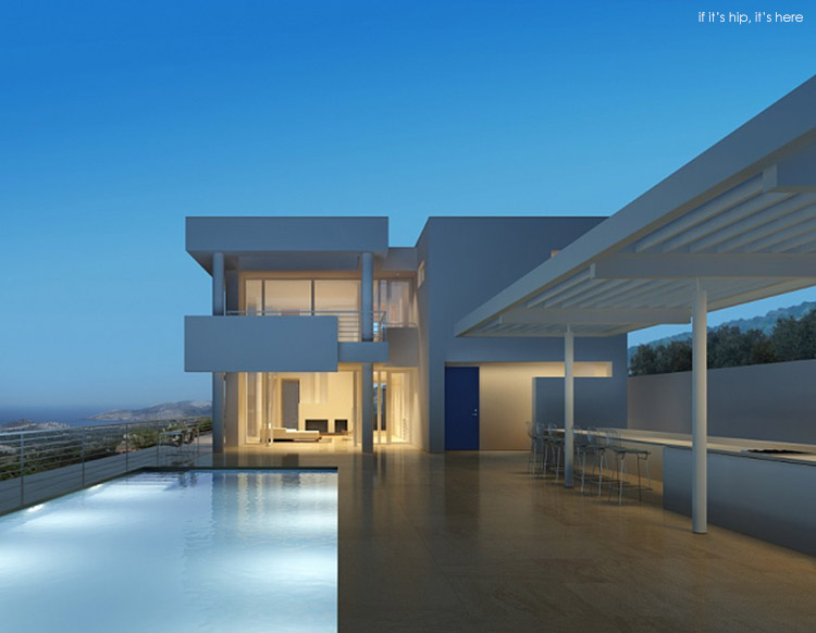 Richard Meier Does Modern Architecture In Turkey The Bodrum Houses If It S Hip It S Here
