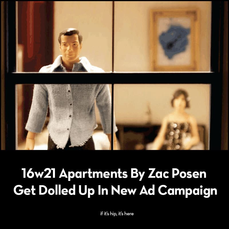 16w21 Apartments By Zac Posen ad campaign