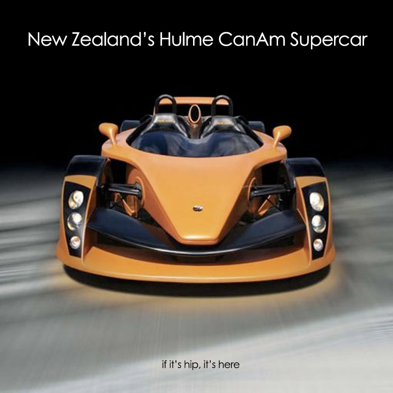 New Supercars: New Zealand Launches A Rocket. The $427,000 Hulme CanAm