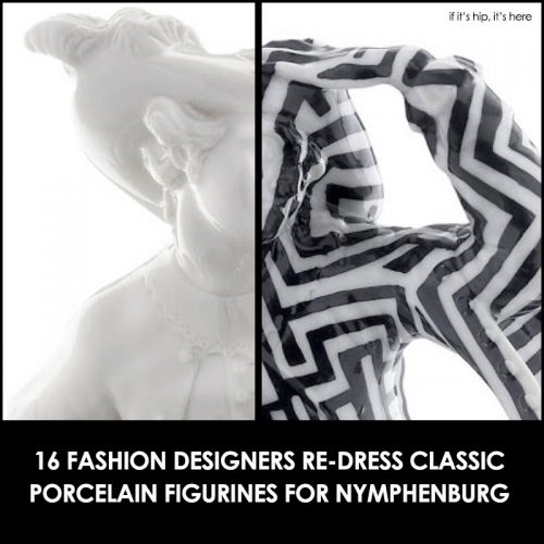 Read more about the article Classic Nymphenburg Porcelain Figurines Get Fashion Makeovers From 16 Designers.