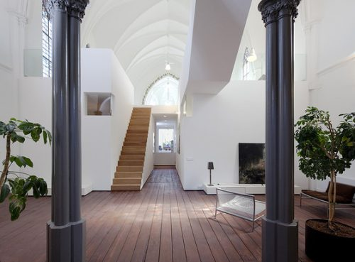 Read more about the article The Residential Church XL. Holy Modern Home! Renovated Church Townhouse In Utrecht.