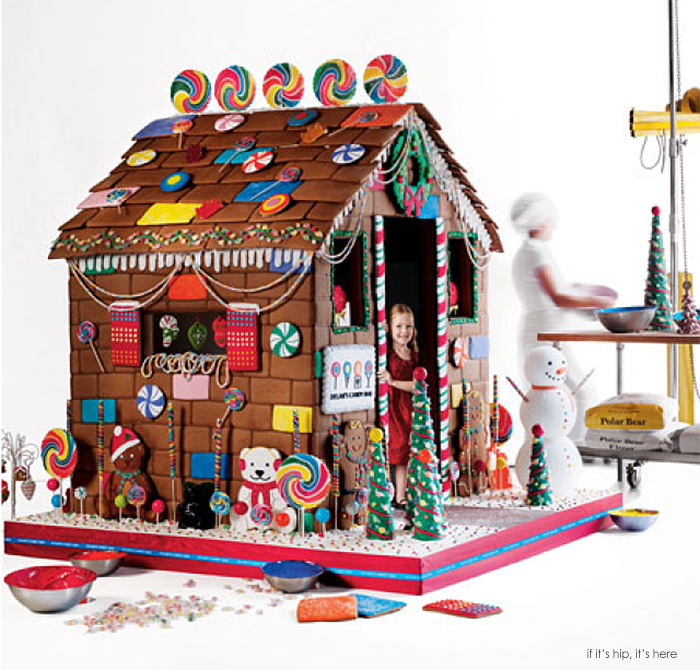 life size gingerbread house