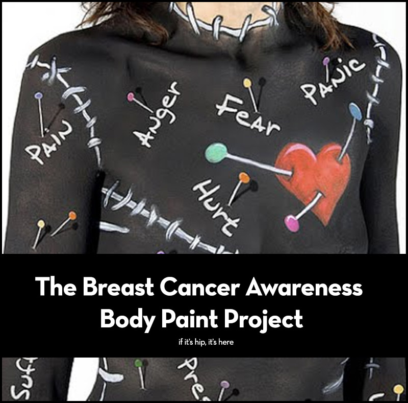 The Breast Cancer Awareness Body Paint Project