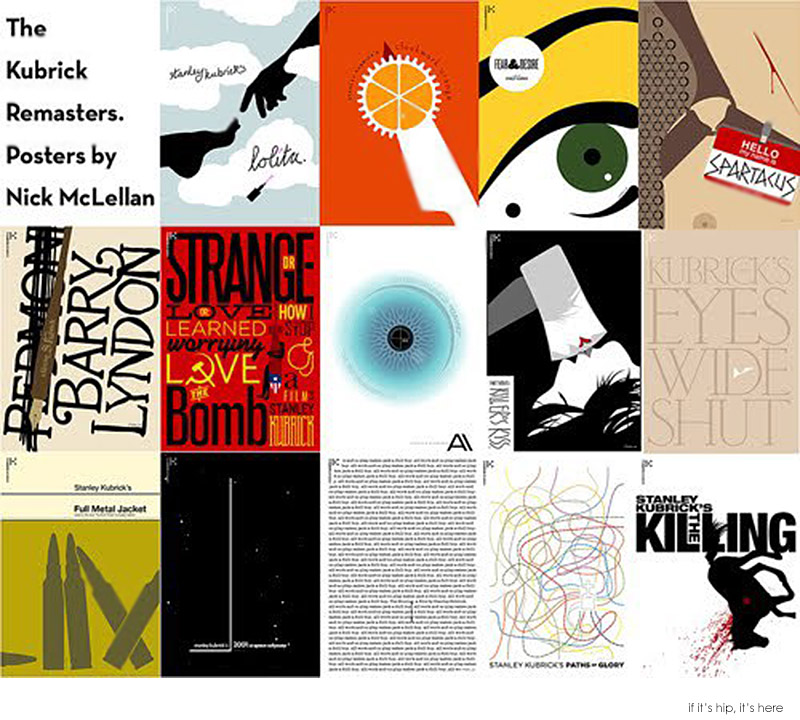 Posters Inspired By Stanley Kubrick