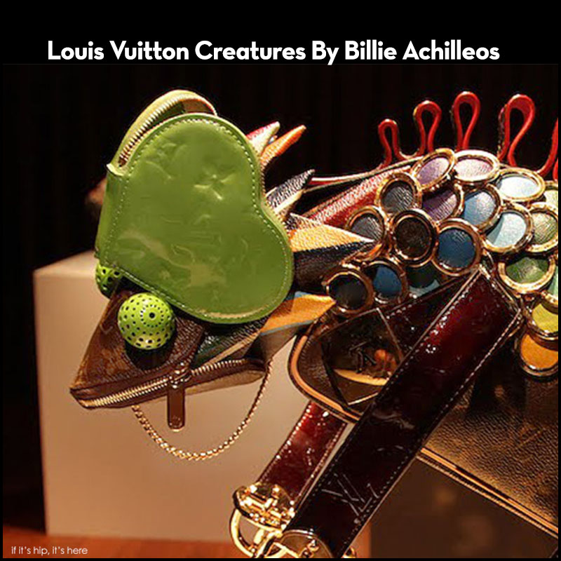 Louis Vuitton Creatures Made Of Small Leather Goods By Billie Achilleos