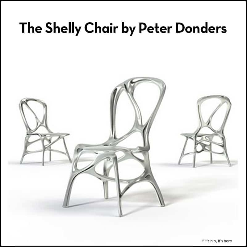 The Shelly Chair by Peter Donders