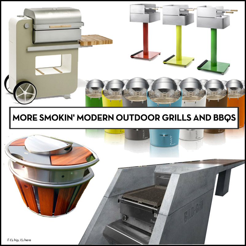 best modern outdoor grills and BBqs