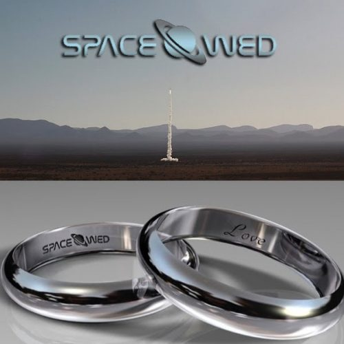 Read more about the article Unearthly Commitment: Out Of This World Wedding Rings Made of Gold That Went To Space.