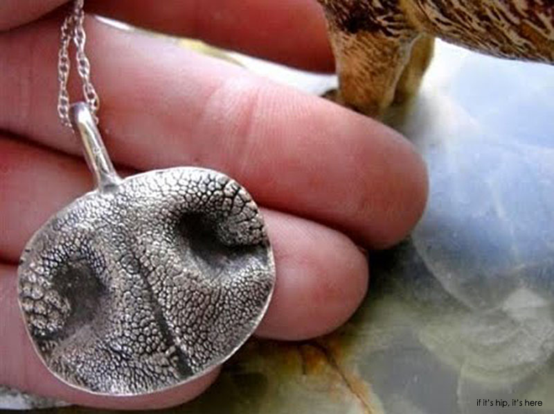 jewelry cast From Your Dog or Cat's Nose