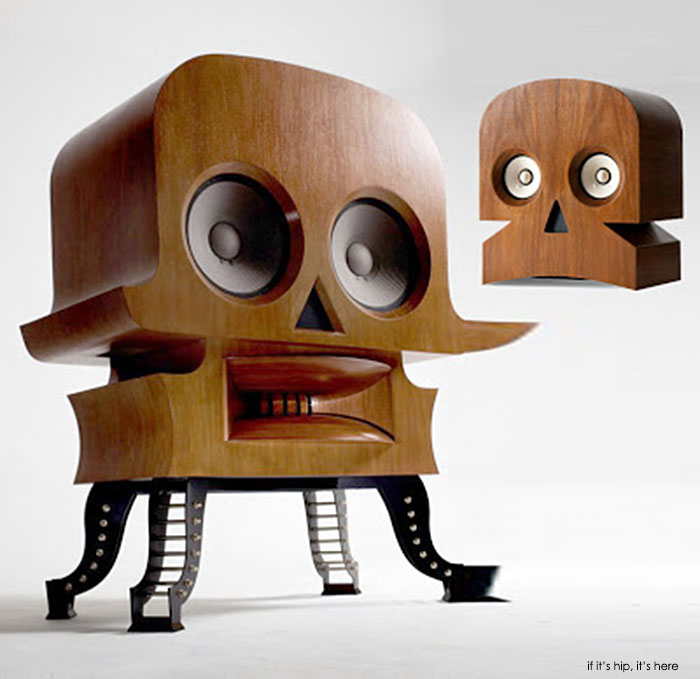 Read more about the article A Chip Off The Ol' Giant Skull Speaker. New MinuSkull Speakers by Kuntzel+Deygas.