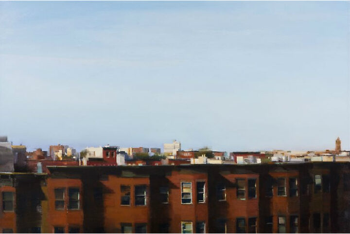 Artist Kim Cogan Captures The Quiet Side Of City Life With A Paintbrush.