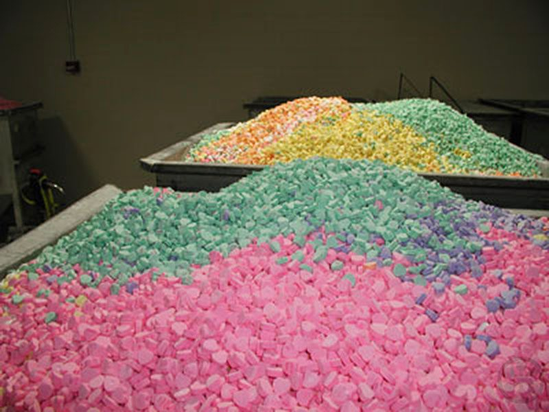 How Necco Sweethearts Conversation Hearts Are Made