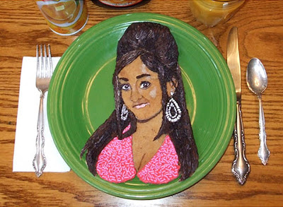 Read more about the article Eight Pancake Portraits From Snooki To The GOS and A Video Of The Artist At Work.