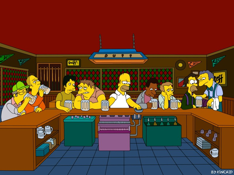 the-last-supper-the-simpsons