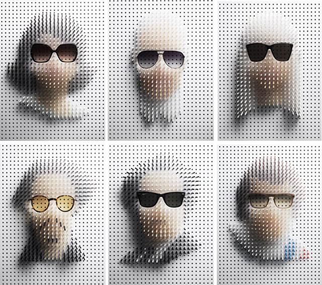 Read more about the article Famous Faces and Frames Made With Sticks And Sunglasses.
