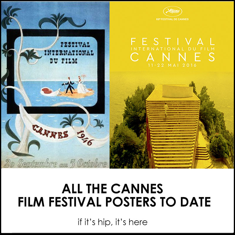 cannes-festival-posters archive by if it's hip it's here