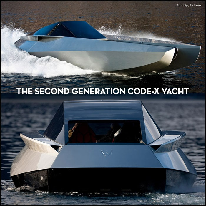 Second generation code-x yacht