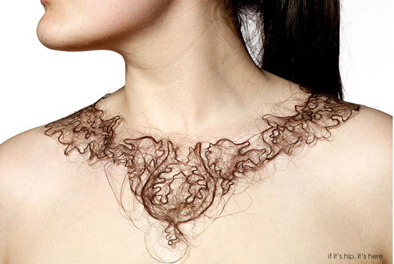 human hair necklaces