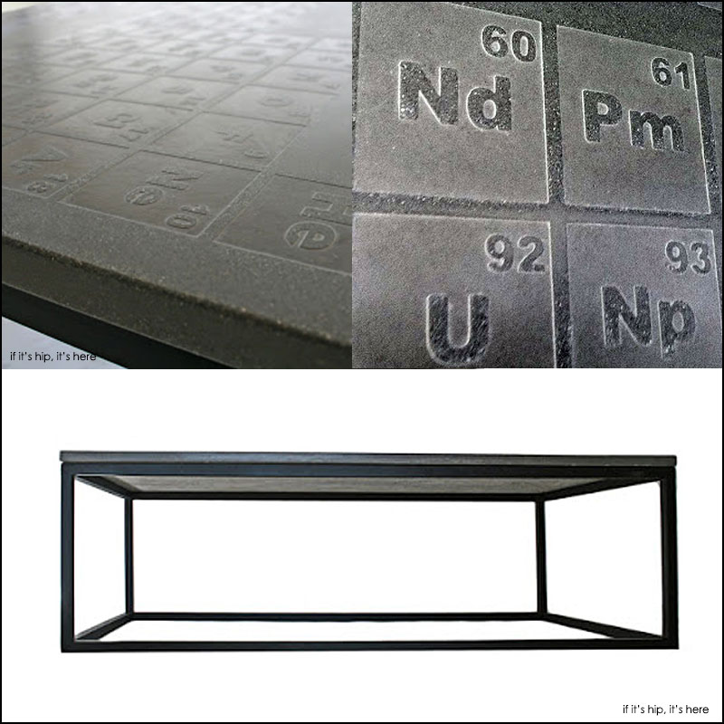 Periodic Concrete Coffee Table By James DeWulf Is A