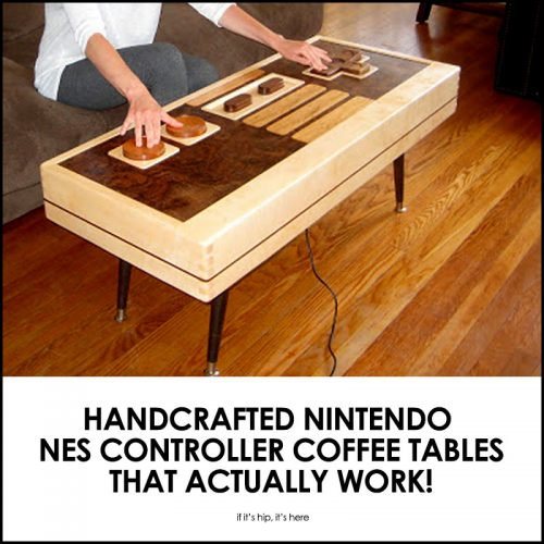 Read more about the article Handcrafted Nintendo NES Controller Coffee Tables – And They Actually Work!