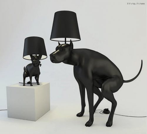 Read more about the article Defecating Dogs Brighten Up A Room. Pooping Dog Lamps By Whatshisname.