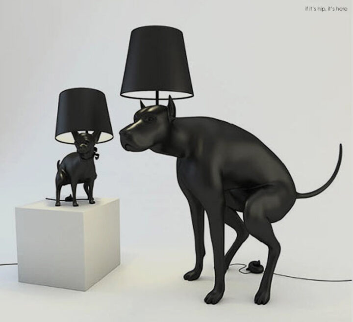 Defecating Dogs Brighten Up A Room. Pooping Dog Lamps By Whatshisname.