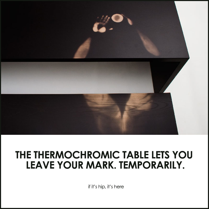 thermochromic table by jay watson