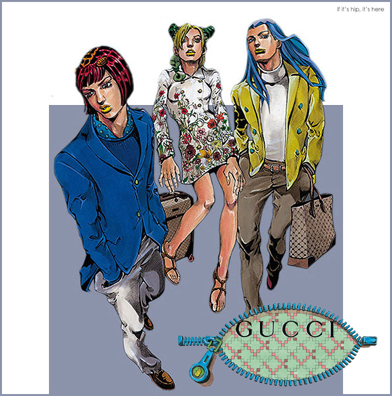 gucci goes manga the italian brand collaborates with