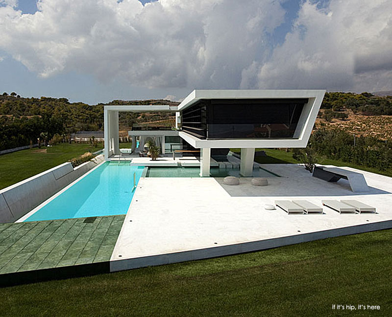 Huge Modern Athens Home With A Squash Court Gym And Three
