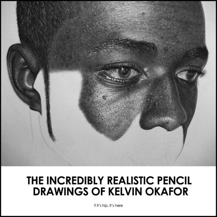 Consider Your Mind Blown. The Phenomenally Realistic Graphite Drawings of Kelvin Okafor.