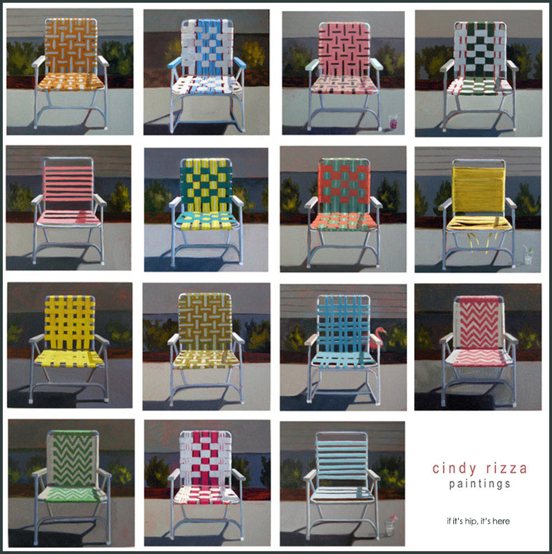 Cindy Rizza Lawn Chairs