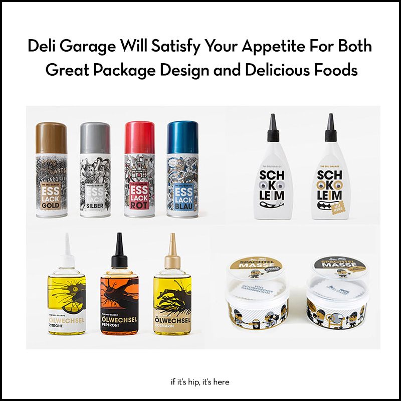 Deli Garage foods and packaging